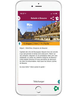 Balade à Beaune - Application Balade en Bourgogne